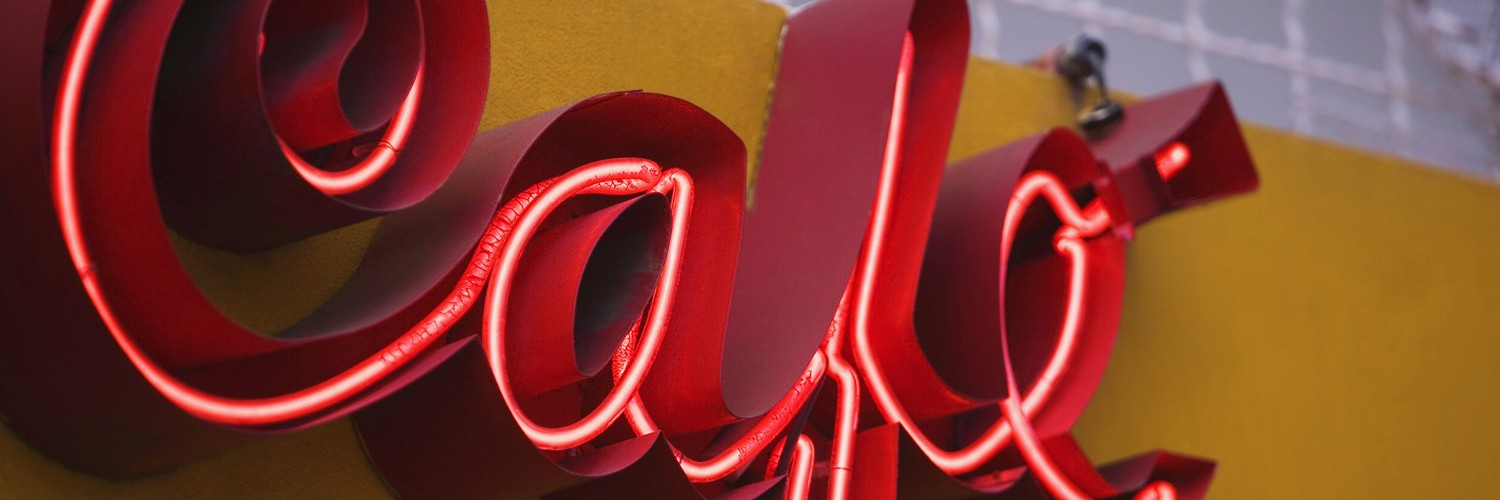 Exposed neon channel letter